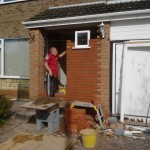 Porch construction - Pedmore