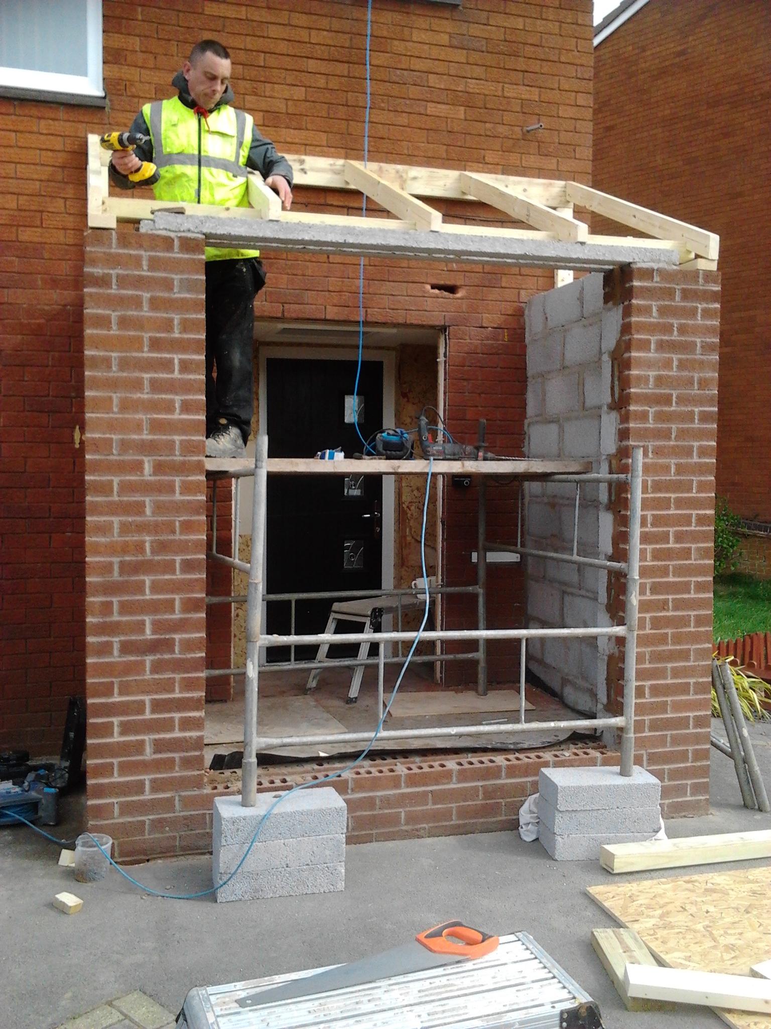 Porch Construction - Bartley Green